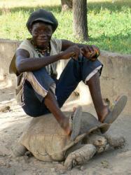 Adama, notre premier hôte à Ouagadougou