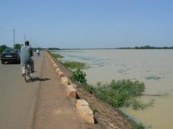 Le barrage de Ouagadougou