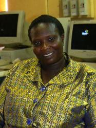 Madame Koné-Tago Haoua, de l'association RENAF NTIC