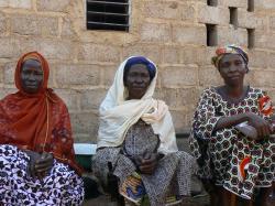 Des membres de l'association ADAF à Ouagadougou